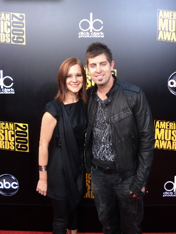 Jeremy and Adie Camp at American Music Awards | Country ...