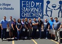 Family Life Radio Network Team Serves Hungry Children