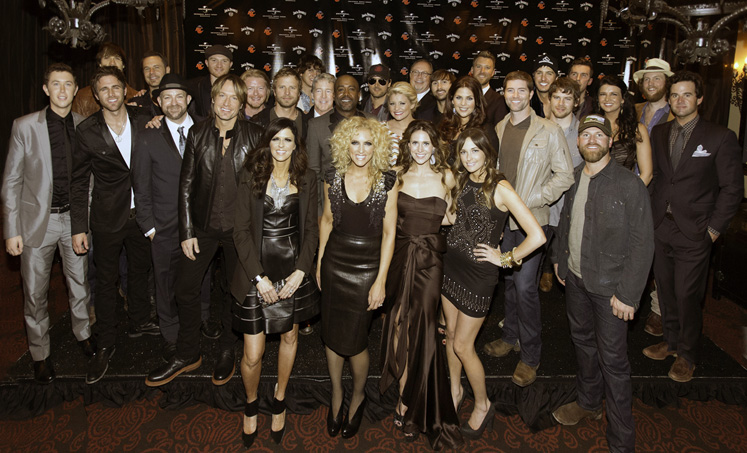 Universal Music Group Nashville's artists celebrated big wins