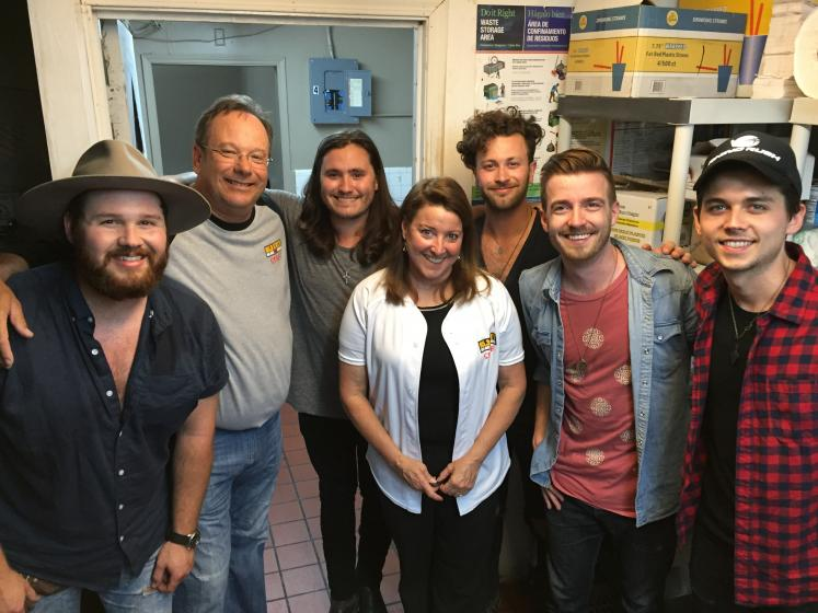 Arista Nashville Lanco Empire Broadcasting Krty San