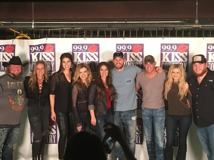 IHeartMedia WKSF 999 Kiss Country Asheville NC 9th Annual Guitar Jam