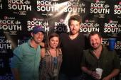 Brett Eldredge Visits With Tige & Daniel At 'Rock The South'