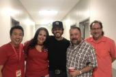 Chris Janson Catches Up With KKBQ/Houston