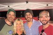 Chris Janson Hangs With Country Radio Friends