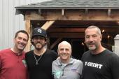 Chris Janson Hangs With Country Radio Friends In New Hampshire