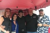 Chris Janson Hangs With WXTU/Philadelphia