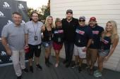 Chris Young Hangs With WQDR/Raleigh