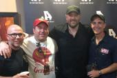 Chris Young Hangs With Radio Friends In Virginia Beach