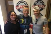 Dustin Lynch Visits With WGNA/Albany, NY