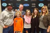 Garth Brooks & Trisha Yearwood Hang With KXKT/Omaha