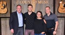 Jacob Davis Vists The Academy Of Country Music
