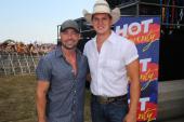 Jon Pardi Hangs With CMT's Cody Alan