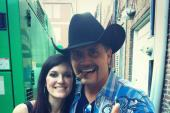 Kasey Tyndall Joins John Rich At Club Redneck Riveria Stage