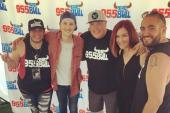 Ryan Follese Hangs With KWNR/Las Vegas