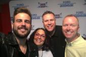Jackie Lee Wins Fans At KXKT/Omaha Listener Lounge