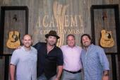 Lee Brice Performs For ACM Staff