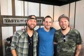 LOCASH Checks Into The Taste Of Country Nights Studio