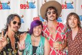 Midland Poses With KWNR/Las Vegas' Lois Lewis