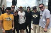 Morgan Evans Is Supported By Cole Swindell During CMA Fest