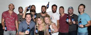 Old Dominion Join Friends After Successful Show
