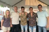 Thomas Rhett Joins WUSN/Chicago At LakeShake Festival