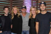 Tim McGraw & Faith Hill Visit With 'Ty, Kelly & Chuck'
