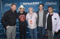 Brad Paisley Visits SiriusXM