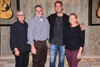 Brett Young Visits The Academy Of Country Music