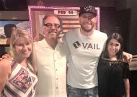 Chase Rice Hangs With KPLX And KSCS/Dallas