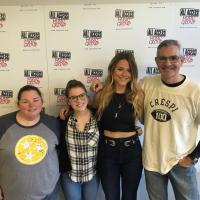 Christina Taylor Visits All Access Nashville