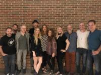Delta Rae Hangs With Country Radio Friends in Atlanta