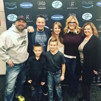 Garth Brooks And Trisha Yearwood Hang With KDRK/Spokane