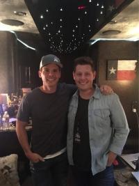 Granger Smith Hangs With WLFP/Memphis' Marty Brooks