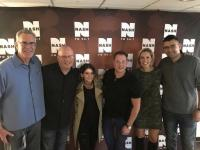 Maren Morris Hangs With WNSH/New York