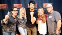 Morgan Evans Stops By WTQR/Greensboro