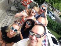 Reviver Records Staff Watches Total Eclipse