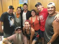 Thomas Rhett Hangs Backstage With WEBG/Chicago