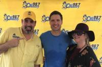 Walker Hayes Hangs With WYCT/Pensacola