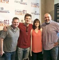 Morgan Wallen Stops By To Welcome WLHK/Indianapolis MD Cara Dennis