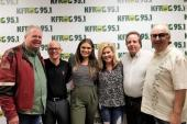 Abby Anderson Visits KFRG/Riverside, CA