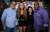 Carly Pearce 'Hides The Wine' In Dallas