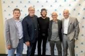 Chris Janson Celebrates With Warner Music Family