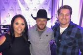 Cody Johnson Hangs With Radio Friends