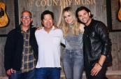 Haley & Michaels Visit Academy Of Country Music