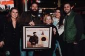 Jordan Davis Celebrates In Nashville