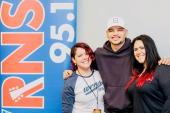 Kane Brown Catches Up With WRNS/Greenville, NC