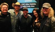 Krystal Keith, Lance Carpenter Catch Up With Country Radio Friends In Vegas