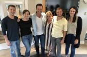 Lucas Hoge Hangs With Nashville Recording Academy Team