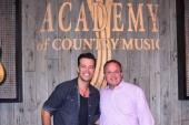 Lucas Hoge Visits Academy Of Country Music