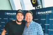 Luke Bryan Stops By SiriusXM